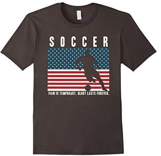 USA Soccer TShirt: Glory Lasts Forever