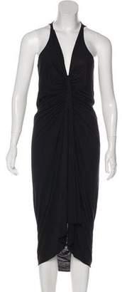 Rick Owens Lilies Asymmetrical Maxi Dress