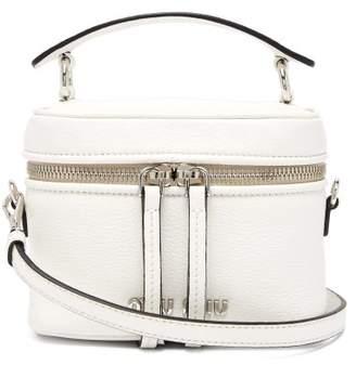 Miu Miu Leather Cross Body Bag - Womens - White