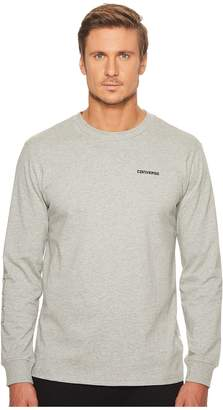 Converse Long Sleeve Graphic Wordmark Tee Men's T Shirt