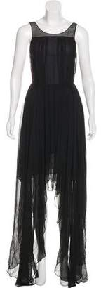Theyskens' Theory Pleated Maxi Dress