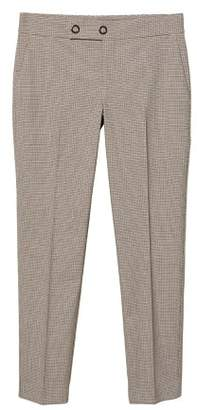 MANGO Check suit pants