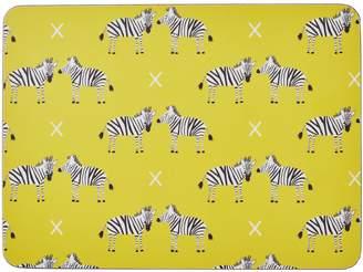 Rosa & Clara Designs - Zebras Placemats Set of Four Large