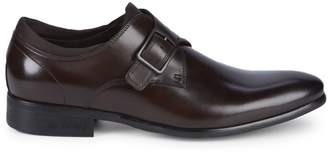 Kenneth Cole New York Design 111294 Leather Monk-Strap Loafers