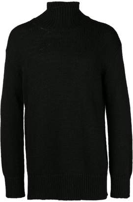 Dondup turtle-neck fitted sweater