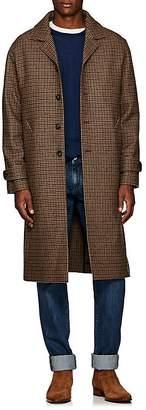 Officine Generale Men's Serge Houndstooth Wool Topcoat