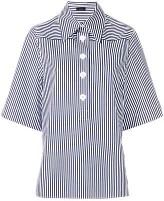Joseph short-sleeve stripe shirt