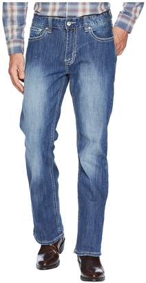 Rock and Roll Cowboy Reflex Double Barrel Denim with Stitches in Light Wash M0D6602 Men's Jeans