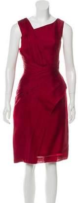 J. Mendel Silk Midi Dress Silk Midi Dress