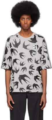 McQ Grey Racer Swallow T-Shirt