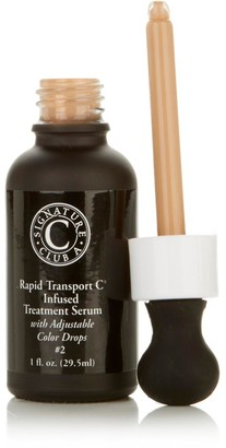 Signature Club A Rapid Transport C Serum with Adjustable Color Drops
