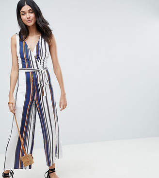 Parisian Tall Stripe Cami Jumpsuit