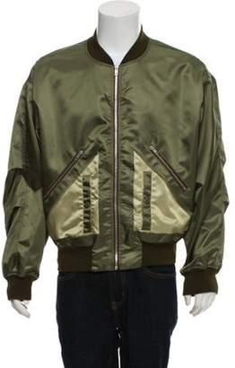 Maison Margiela Nylon Military Bomber Jacket w/ Tags green Nylon Military Bomber Jacket w/ Tags