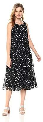 Nine West Women's Sleeveless Blouson Dress