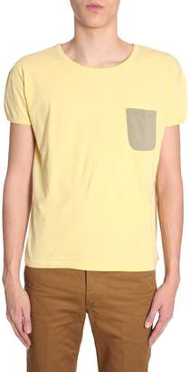 Visvim T-shirt With Contrast Pocket