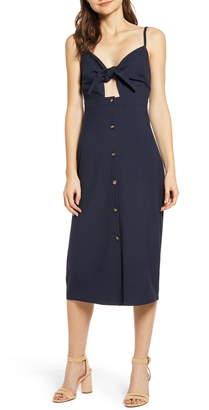 Bishop + Young Tie Front Dress