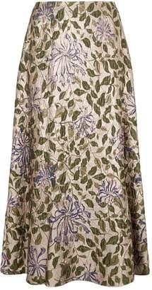 Marina Rinaldi Jacquard Maxi Skirt
