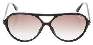 Tom Ford Leopold Shield Sunglasses