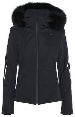 Fendi Fur-trimmed ski jacket