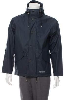 Stutterheim Lightweight Zip-Up Raincoat