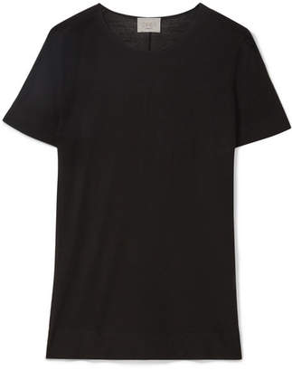 Jason Wu GREY - Wool Top - Black