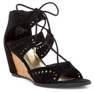 Madden Girl Rally Cutout Wedge Sandal $59 thestylecure.com
