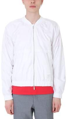 Thom Browne White Nylon Jacket