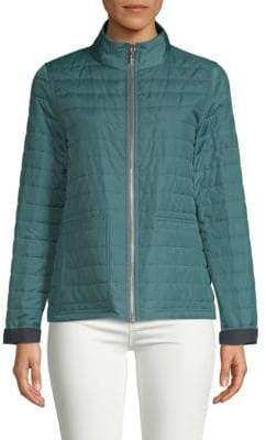 Lafayette 148 New York Garcia Reversible Quilted Jacket