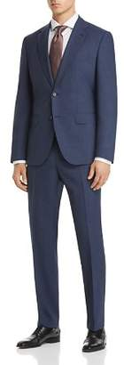 BOSS Johnstons/Lenon Regular Fit Textured Micro Check Suit
