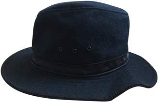 A.P.C. Black Wool Hats & pull on hats