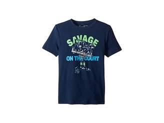 Under Armour Kids Savage on The Court Short Sleeve Tee (Big Kids)