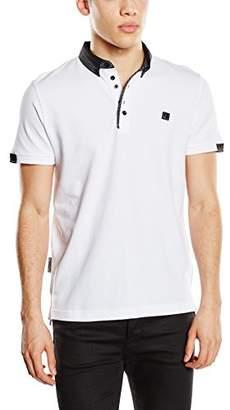 Voi Jeans Men's Wright Plain Short Sleeve Polo Shirt,X-Large