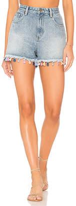 MinkPink Fiesta Tassel Shorts.