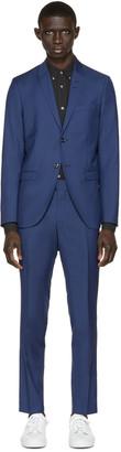 Tiger of Sweden Blue Evert Suit $860 thestylecure.com