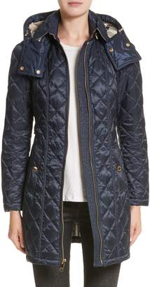 Burberry Baughton Quilted Coat