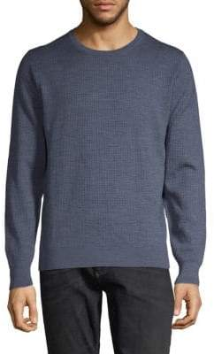 Luciano Barbera Textured Wool & Silk Sweater