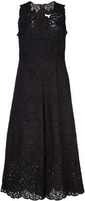 Jonathan Simkhai cropped lace jumpsuit