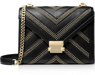 MICHAEL Michael Kors Whitney Large Studded Convertible Shoulder Bag