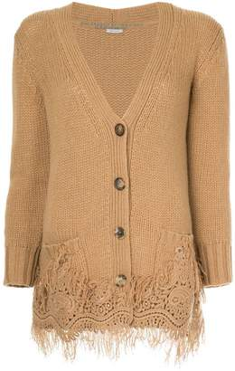 Ermanno Scervino relaxed fit cardigan