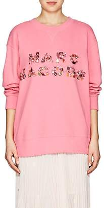 Marc Jacobs Women's Embellished Logo Cotton Sweatshirt