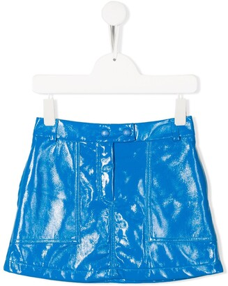 Alberta Ferretti Kids sheen mini skirt