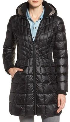 Women's Bernardo Down & Primaloft Coat $188 thestylecure.com