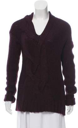 Zero Maria Cornejo Knit V-Neck Sweater