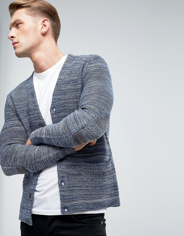 Esprit Esprit Knitted Cardigan in Mixed Yarn