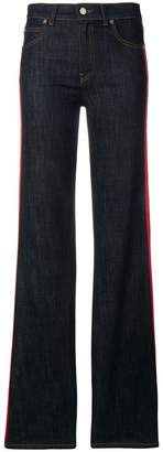RED Valentino striped panel jeans