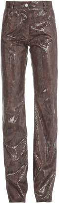 MSGM Python Print Trouser