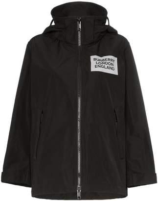 Burberry Millport hooded raincoat