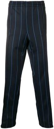 MSGM striped loose trousers