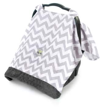 Itzy Ritzy 'Cozy Happens(TM)' Muslin Canopy & Tummy Time Mat