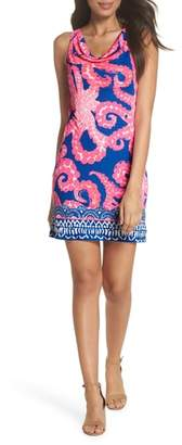 Lilly Pulitzer R) Kyra Silk Shift Dress